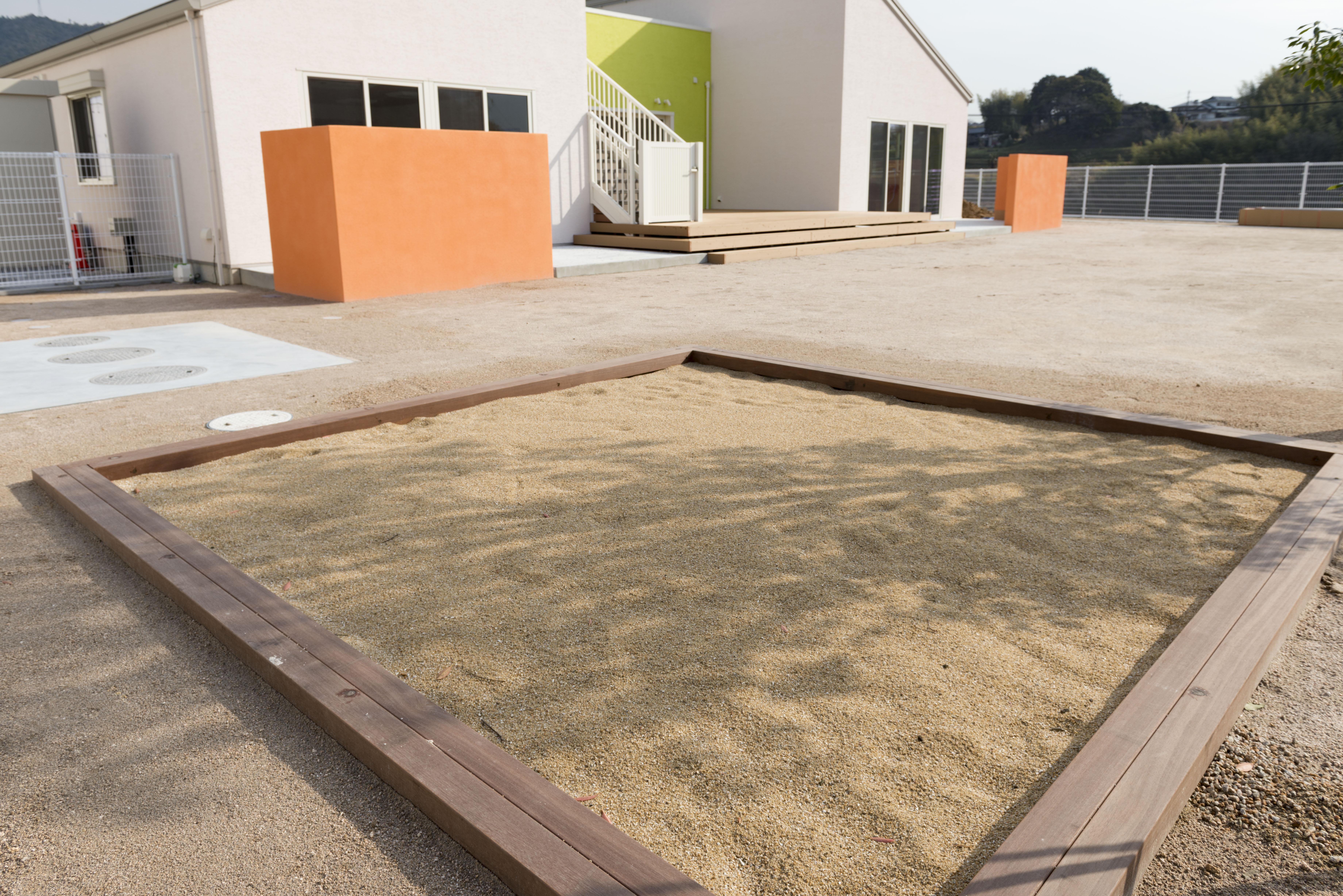 砂場・園庭